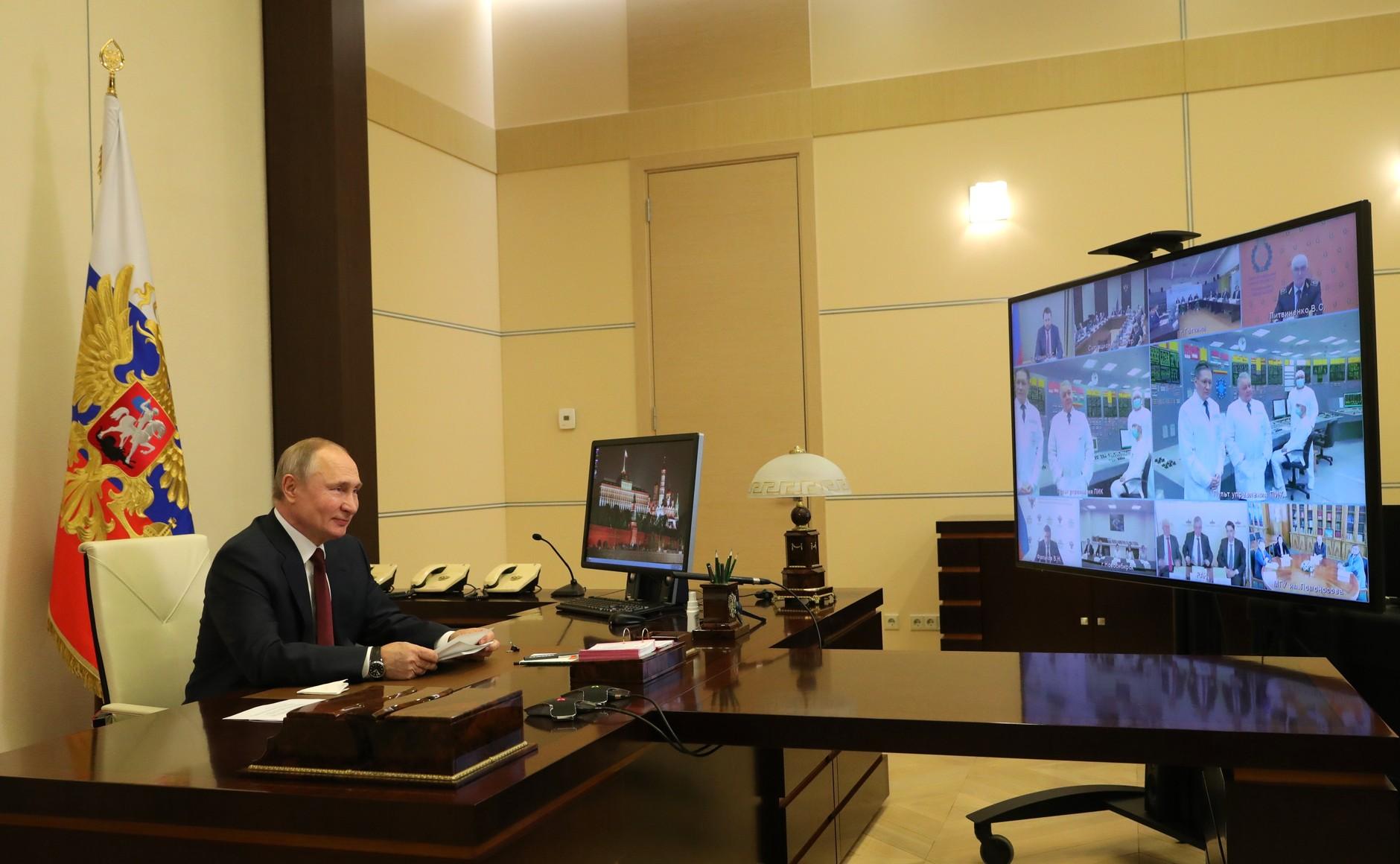 RUSSIE KREMLIN PH 1 SUR 3 Réunion du Conseil pour la science et l'éducation 8 février 2021