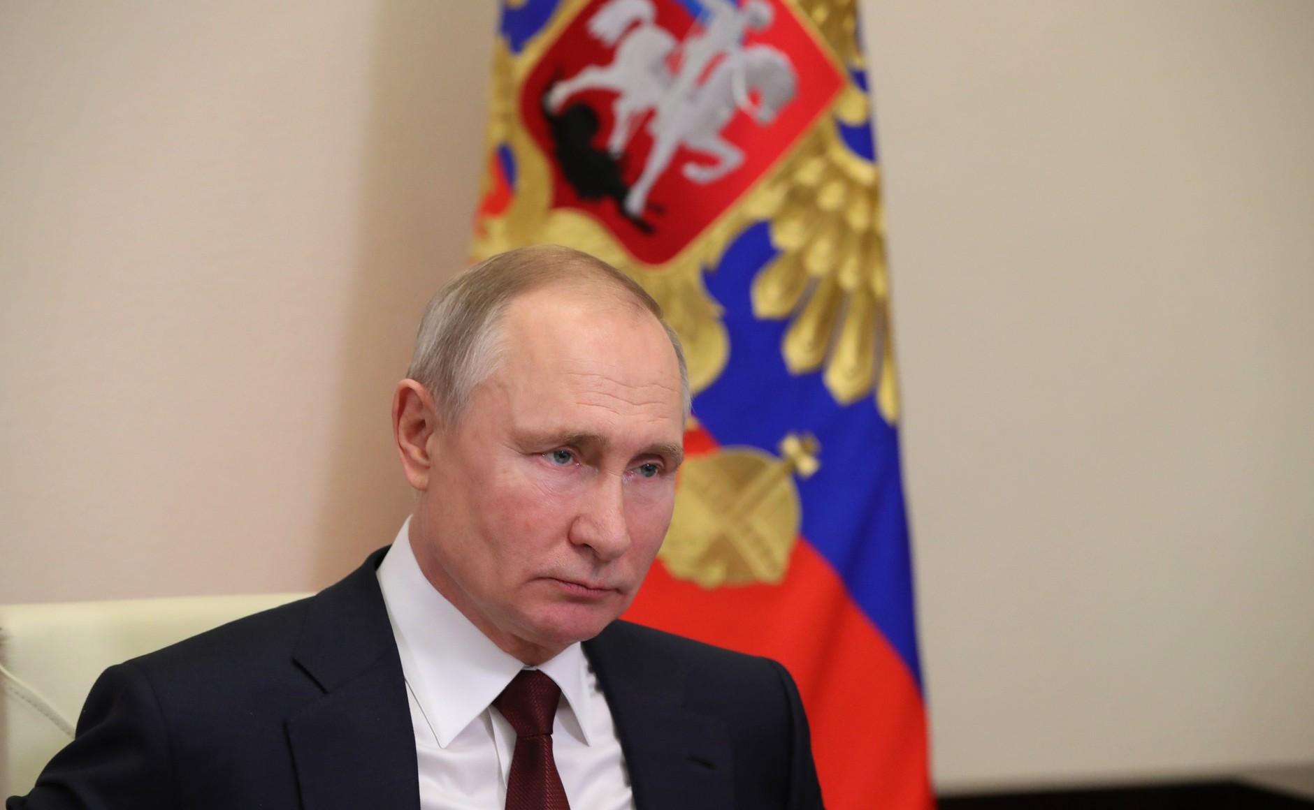 RUSSIE KREMLIN PH 3 SUR 3 Réunion du Conseil pour la science et l'éducation 8 février 2021
