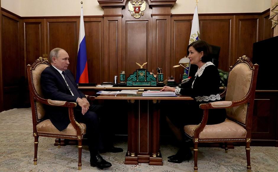RUSSIE PH 1 XX 4 Rencontre du 03.02.2021 avec la directrice générale de l'ASI, Svetlana Chupsheva