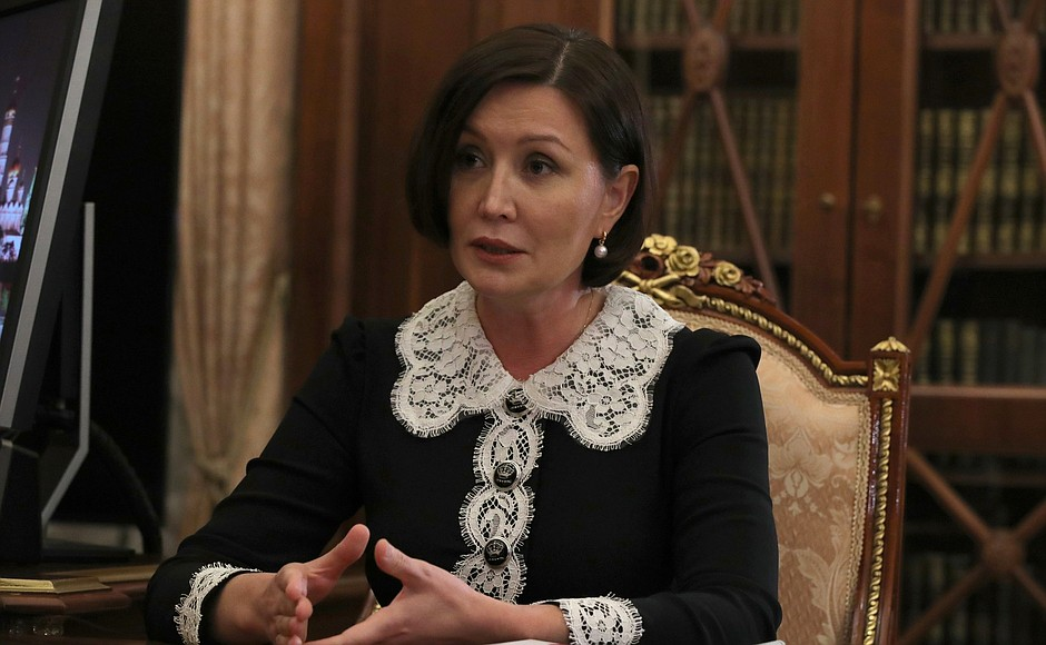 RUSSIE PH 2 XX 4 Rencontre du 03.02.2021 avec la directrice générale de l'ASI, Svetlana Chupsheva