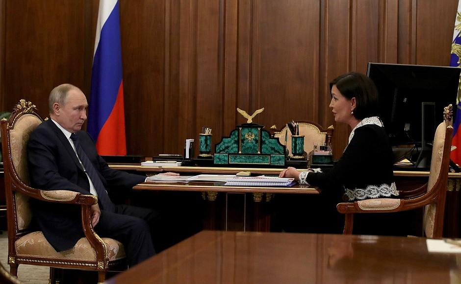RUSSIE PH 3 XX 4 Rencontre du 03.02.2021 avec la directrice générale de l'ASI, Svetlana Chupsheva
