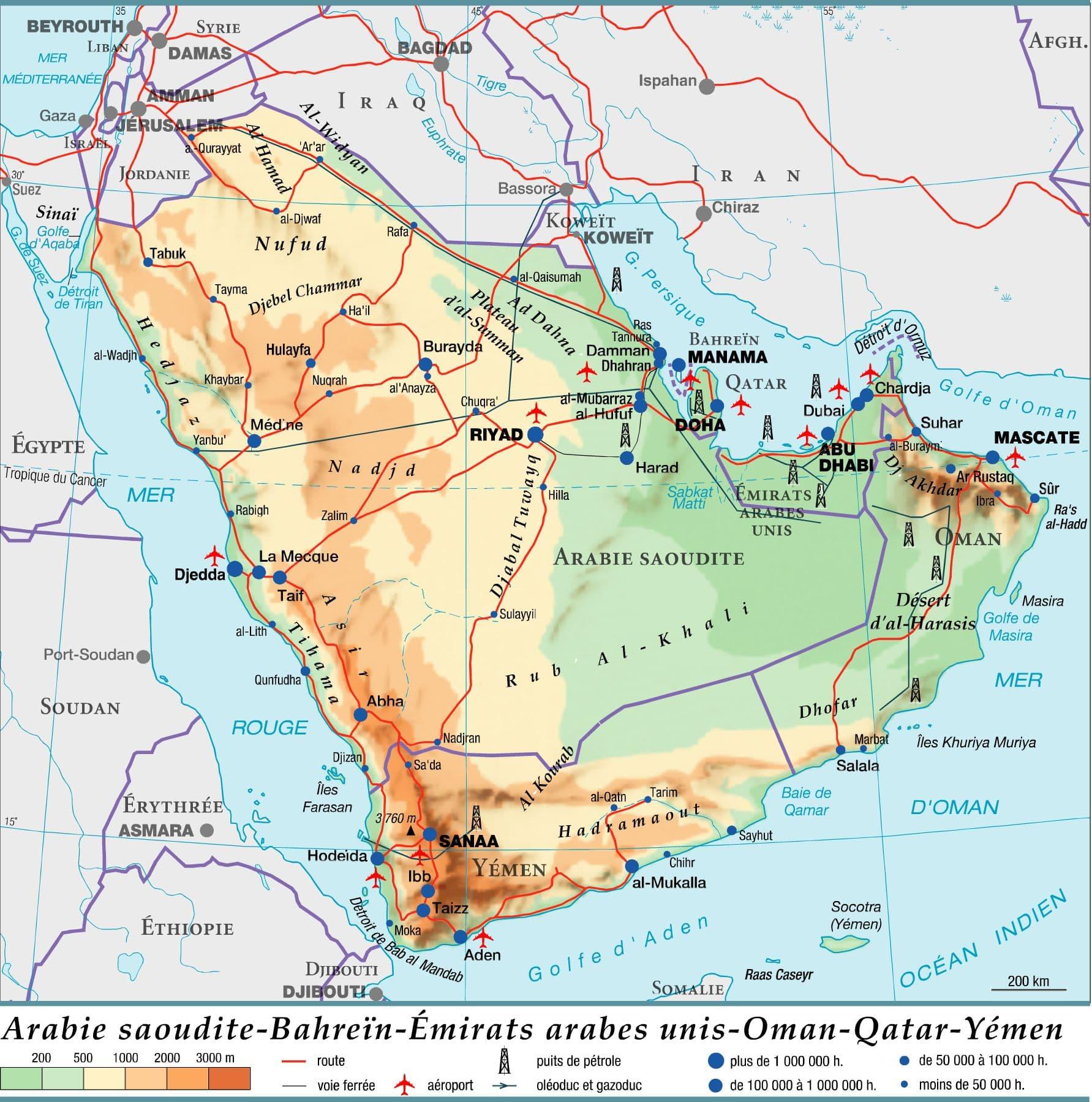 1306013-Arabie_saoudite_-_Bahreïn_-_Émirats_arabes_unis_-_Oman_-_Qatar_-_Yémen.HD