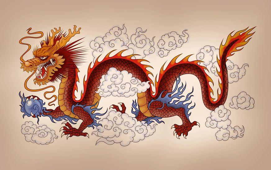 18214159 - chinese dragon