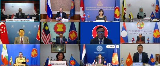 1Des participants à la la 17e réunion des hauts officiels ASEAN-Russie . Photo Internet