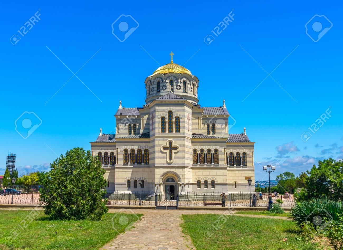 St. Vladimir's Cathedral (Sevastopol) in Russia