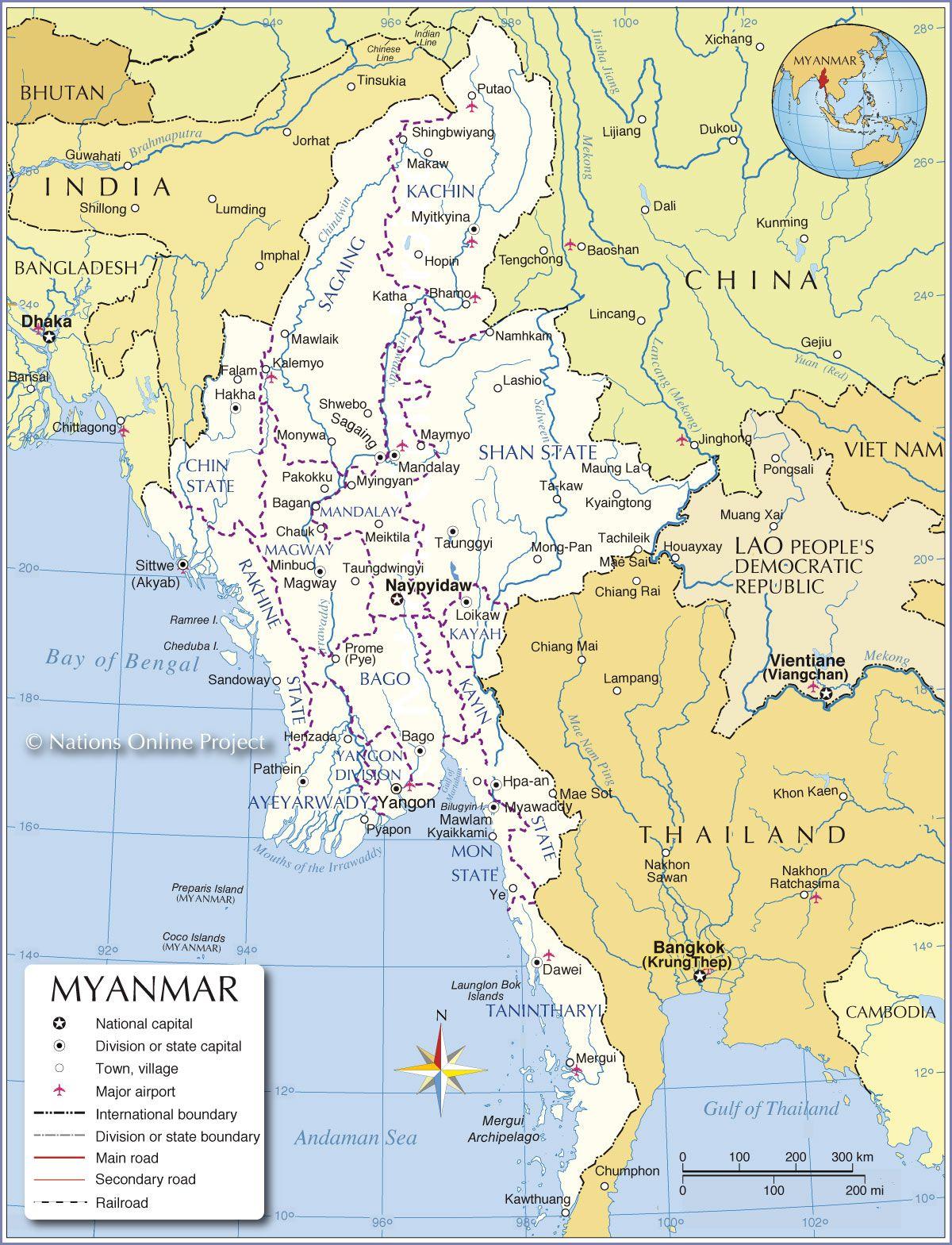 birmanie-carte