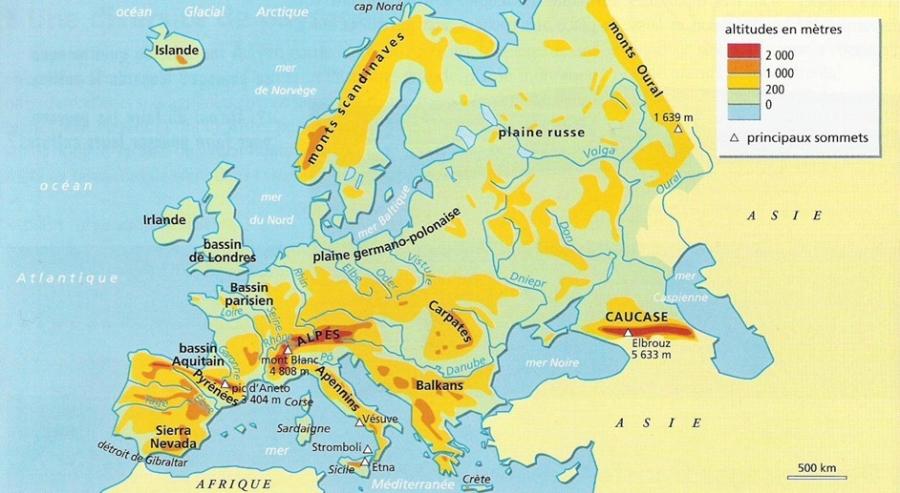 CONTINENT EUROPEEN