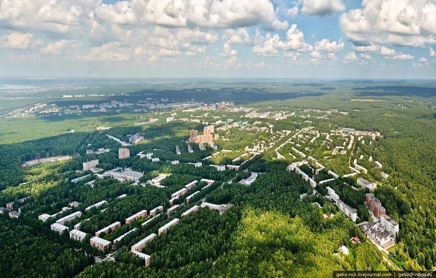 en Sibérie dans la ville de Akademgorodok