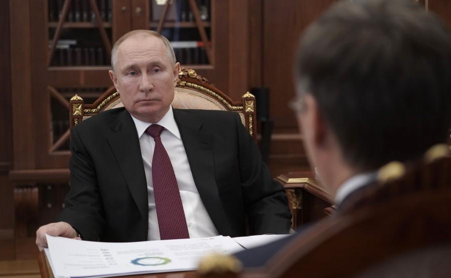 FALKOV RU 3 XX 5 Rencontre avec le ministre des Sciences et de l'Enseignement supérieur Valery Falkov 9 mars 2021