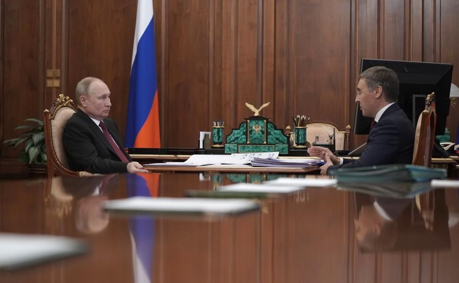 FALKOV RU 4 XX 5 Rencontre avec le ministre des Sciences et de l'Enseignement supérieur Valery Falkov 9 mars 2021