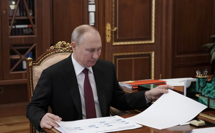 FALKOV RU 5 XX 5 Rencontre avec le ministre des Sciences et de l'Enseignement supérieur Valery Falkov 9 mars 2021