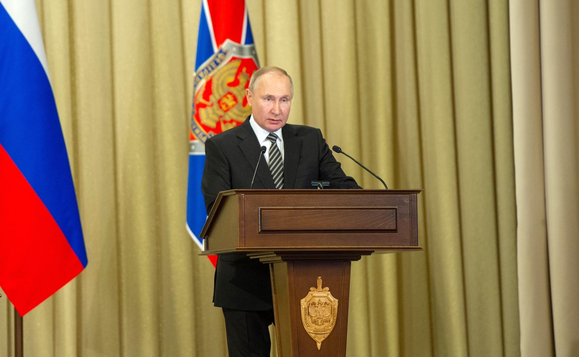 FSB PH 4 XX 5 Le président a tenu une réunion du conseil d'administration du FSB. Du 24 février 2021
