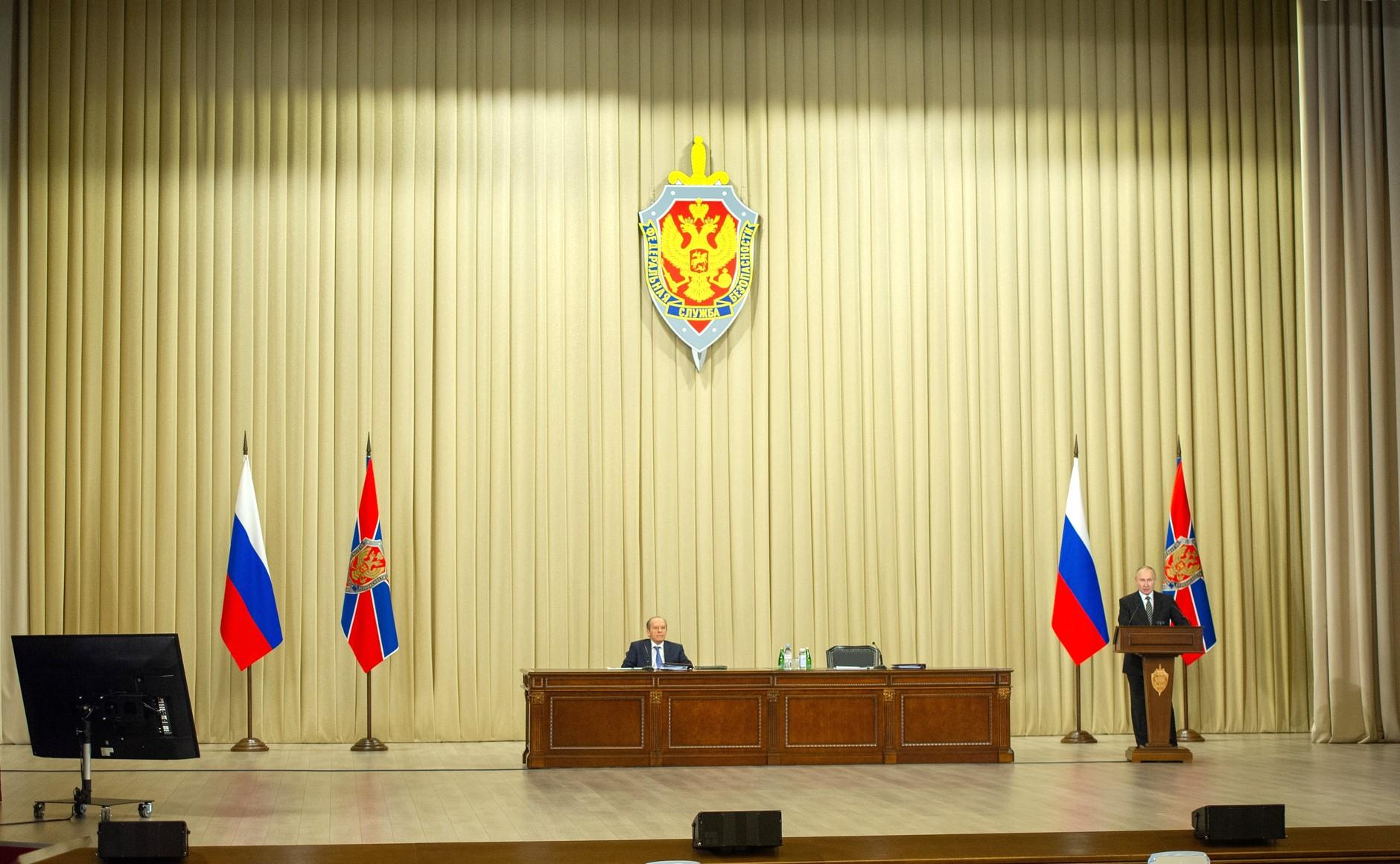 FSB PH 5 XX 5 Le président a tenu une réunion du conseil d'administration du FSB. Du 24 février 2021