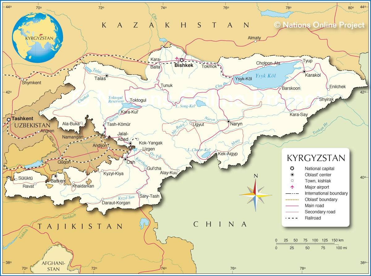 kirghizistan-carte
