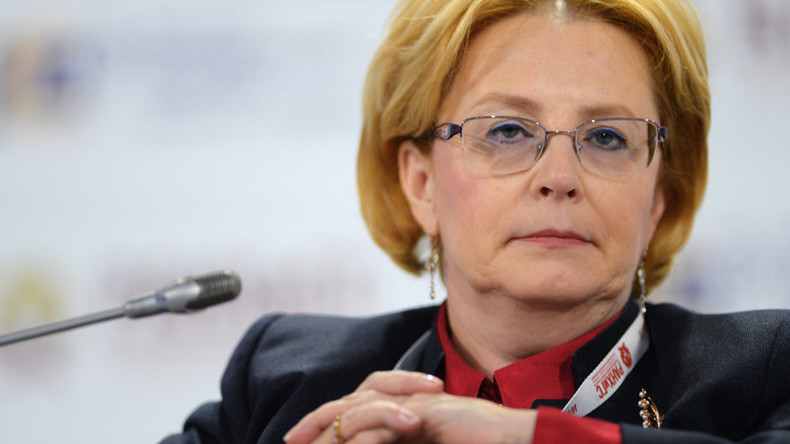 la chef de l'Agence fédérale médico-biologique Veronika Skvortsova 2