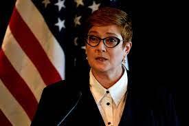 la Ministre australienne des Affaires étrangères Marise Payne 2