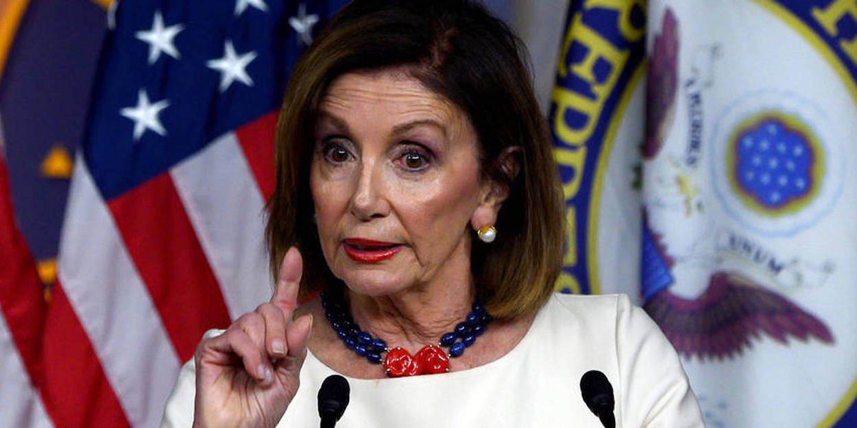 La Présidente de la Chambre des représentants des États-Unis Nancy Pelosi