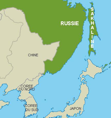 la région de Sakhaline
