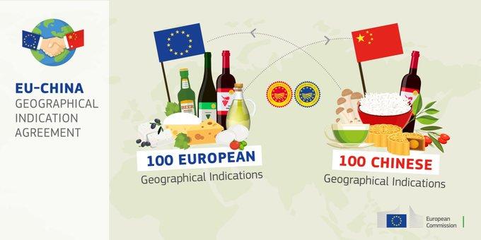 L'accord sur les indications géographiques entre la Chine et l'UE