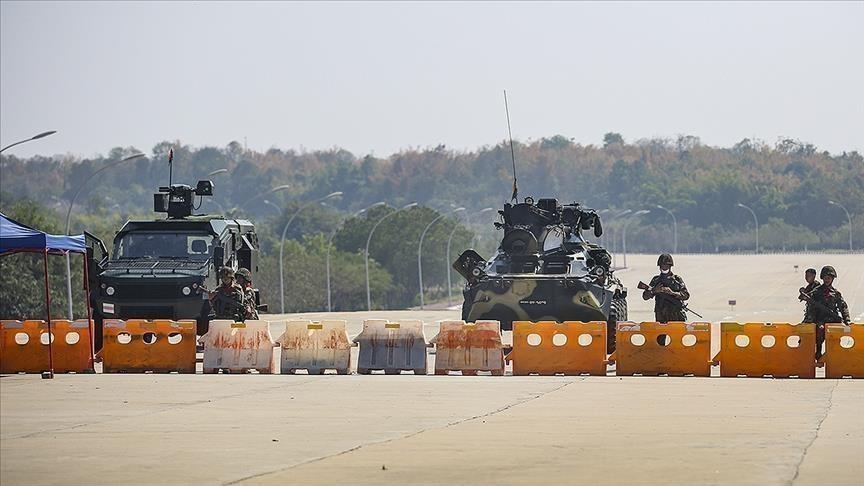 l'armée du Myanmar