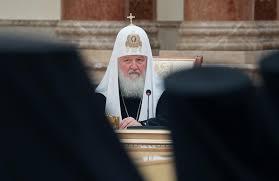 le patriarche Kirill de Moscou et de toute la Russie