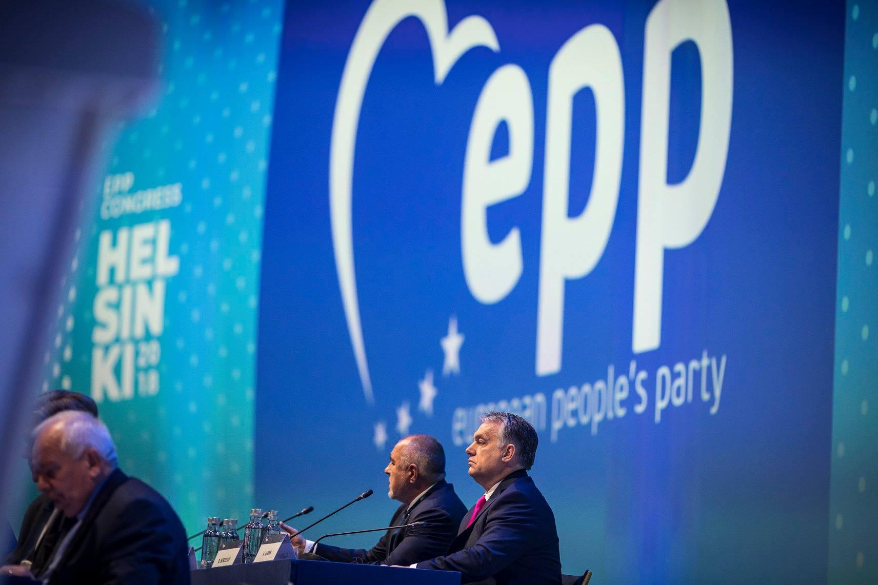 le PPE PARTI POPULAIRE EUROPEEN
