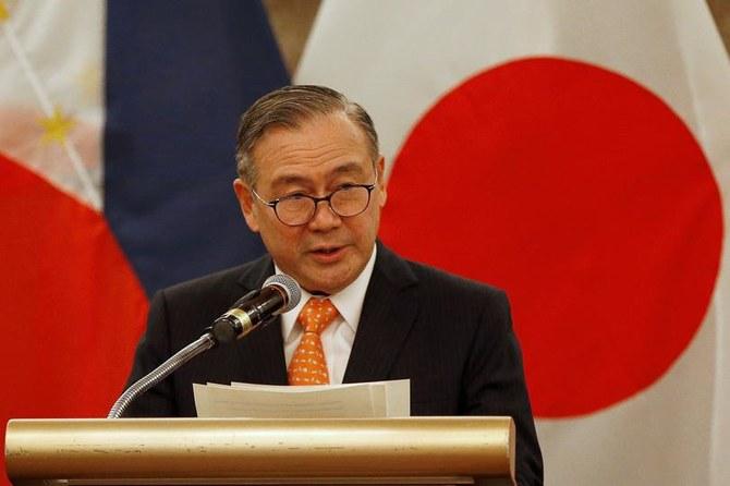 Le secrétaire aux Affaires étrangères des Philippines, Teodoro Locsin Jr., prend la parole lors d'un point de presse réunion à Manille, Philippines, le 9 janvier 2020 (Reuters)
