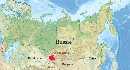 le territoire de l'Altaï,