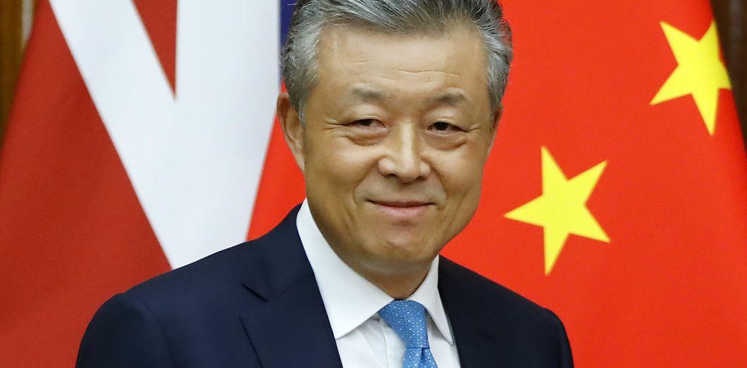 Liu Xiaoming est l'un des diplomates les plus en vue de Chine et ambassadeur en Grande-Bretagne depuis 2009. Tolga Akmen AFP
