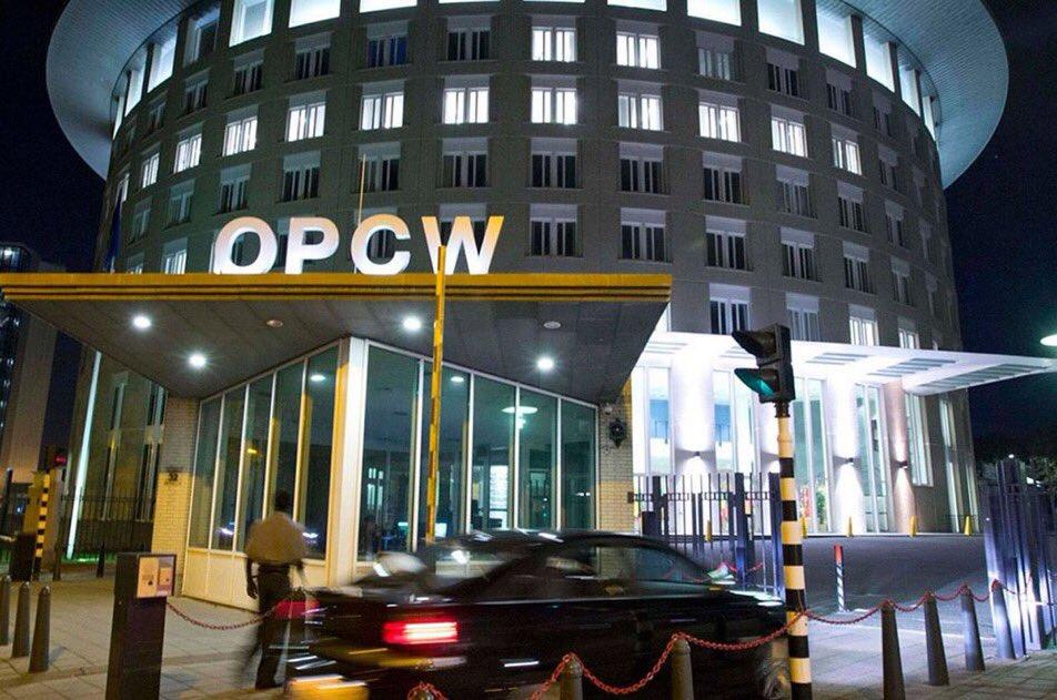 l'Organisation pour l'interdiction des armes chimiques (OIAC)