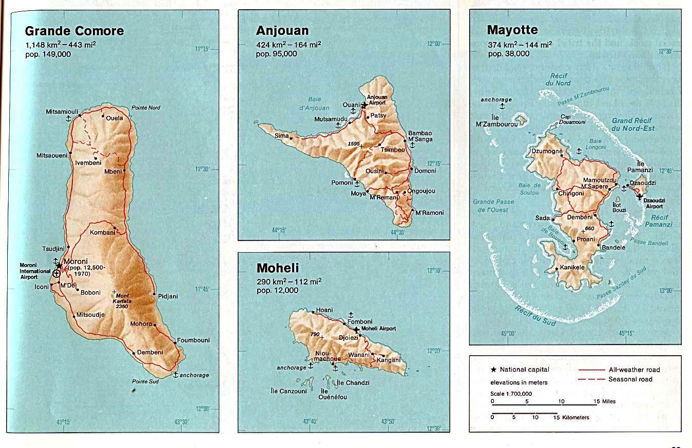 Moroni et + les Comores