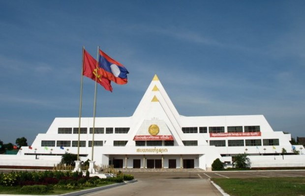 Old Lao National Assembly House (Source unisdr)