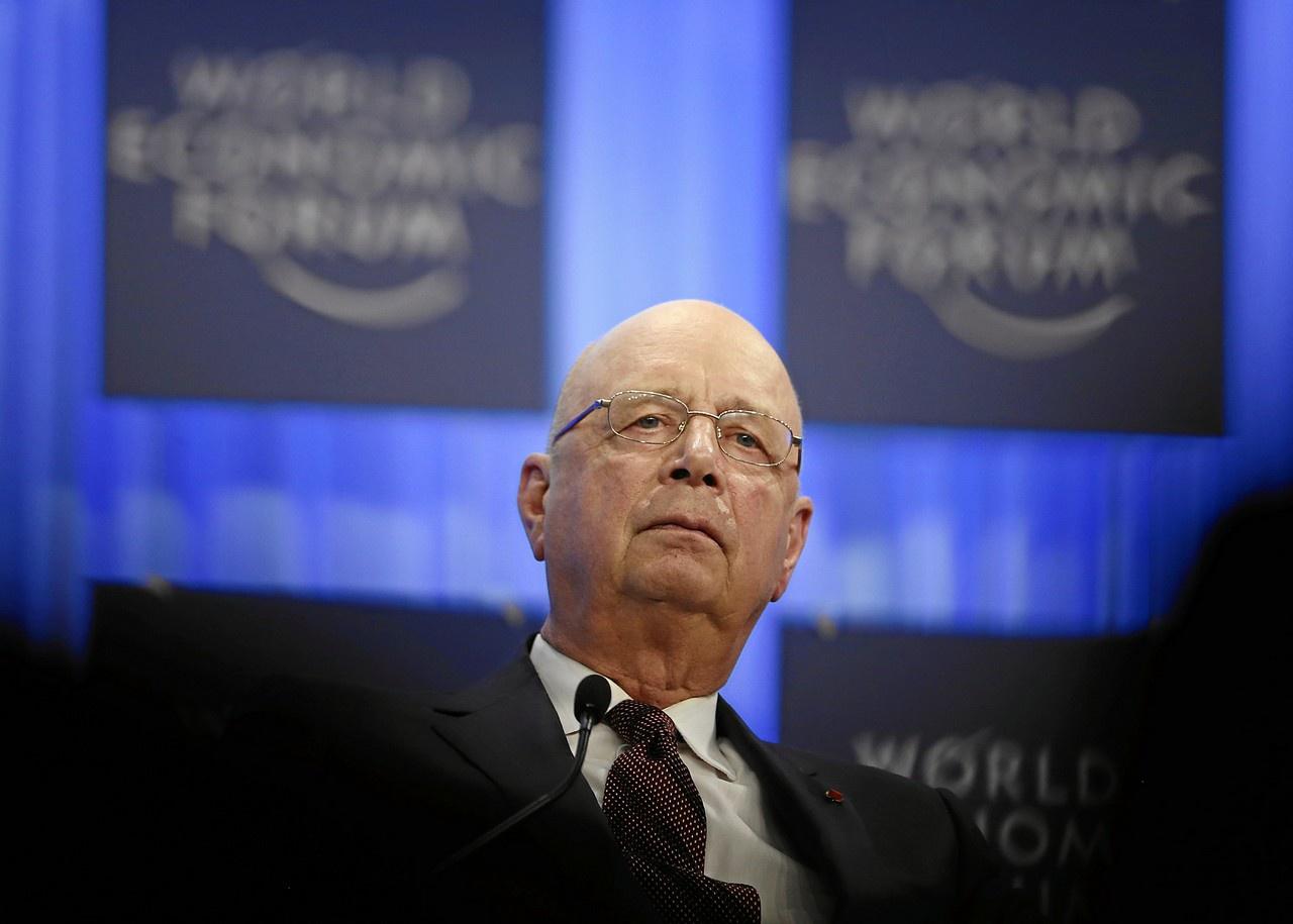 PHO 3 XX Klaus Schwab, fondateur et président du Forum économique mondial de Davos, propose de remplacer les humains par des robots. Et si vous commencez par vous-même
