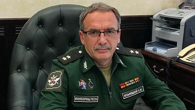 PHOTO 1 XX Andrey Ilnitsky, conseiller du ministre de la Défense de la Fédération de Russie.