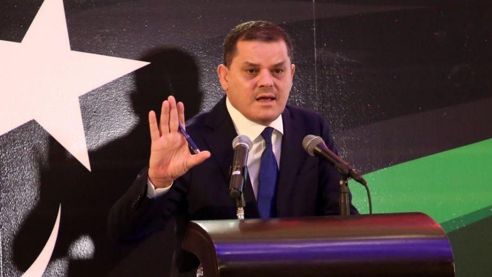 Premier Ministre du gouvernement de transition Abdelhamid Dbeibah.