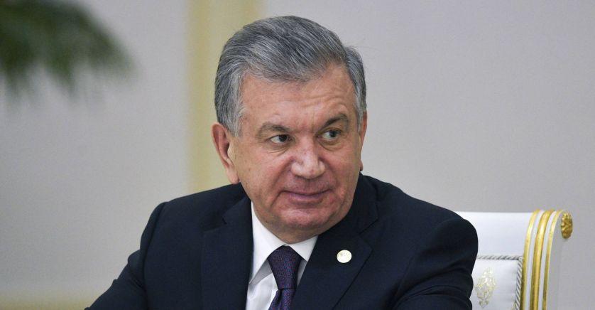 Président de l'Ouzbékistan Shavkat Mirziyoyev