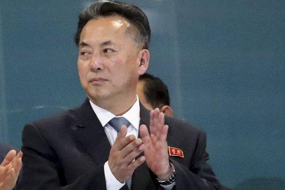 Ri Ryong Nam, le nouvel ambassadeur de la Corée du Nord en Chine, a présenté ses lettres de créance au ministère chinois des Affaires étrangères cette semaine, selon Pékin. Photo de dossier par Mast Irham EPA-EFE