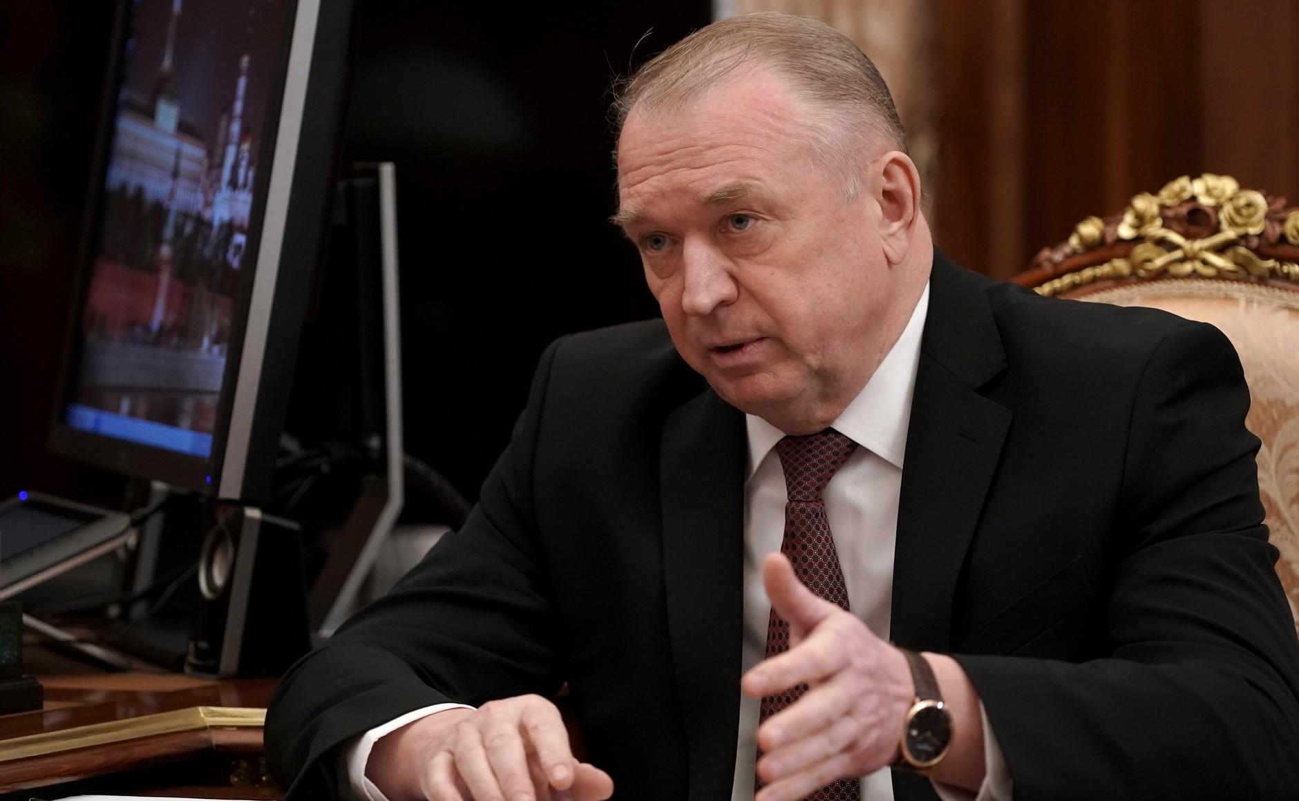 RU COMMERCE 2 KK 2 Rencontre avec le chef de la Chambre de commerce et d'industrie Sergei Katyrin 25 février 2021