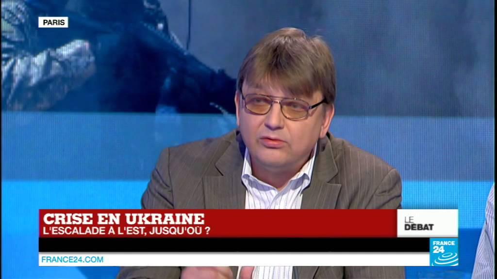 Sergueï Parinov, directeur du service de presse de l'Ambassade de Russie