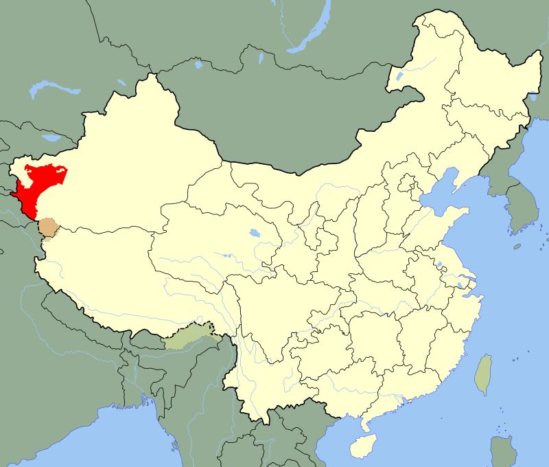 « Turkestan oriental » DE CHINE OUIGHOURG