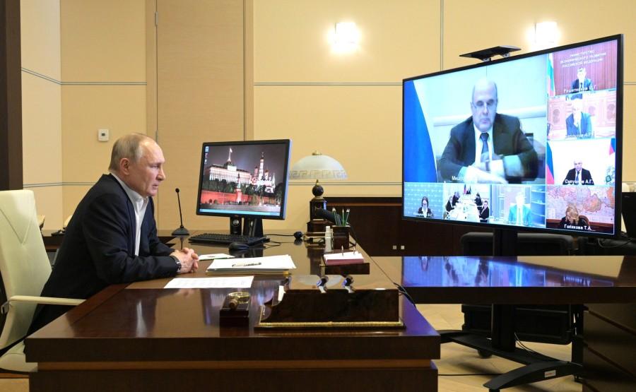 PREPA.DISCOURS KREMLIN RU 1 XX 3 Réunion sur la rédaction du discours de l'Assemblée fédérale du 19 avril 2021 – 21H20