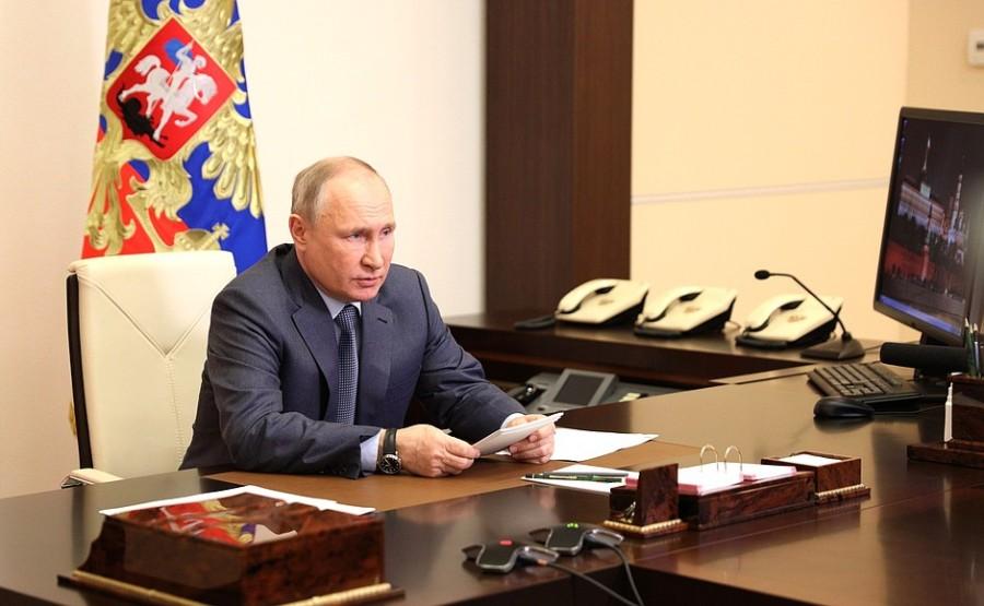 Kremlin GVT 1 SUR 7- Rencontre avec les membres du gouvernement - 13 mai 2021 - 15h50