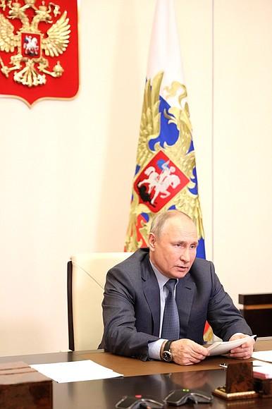 Kremlin GVT 2 SUR 7- Rencontre avec les membres du gouvernement - 13 mai 2021 - 15h50