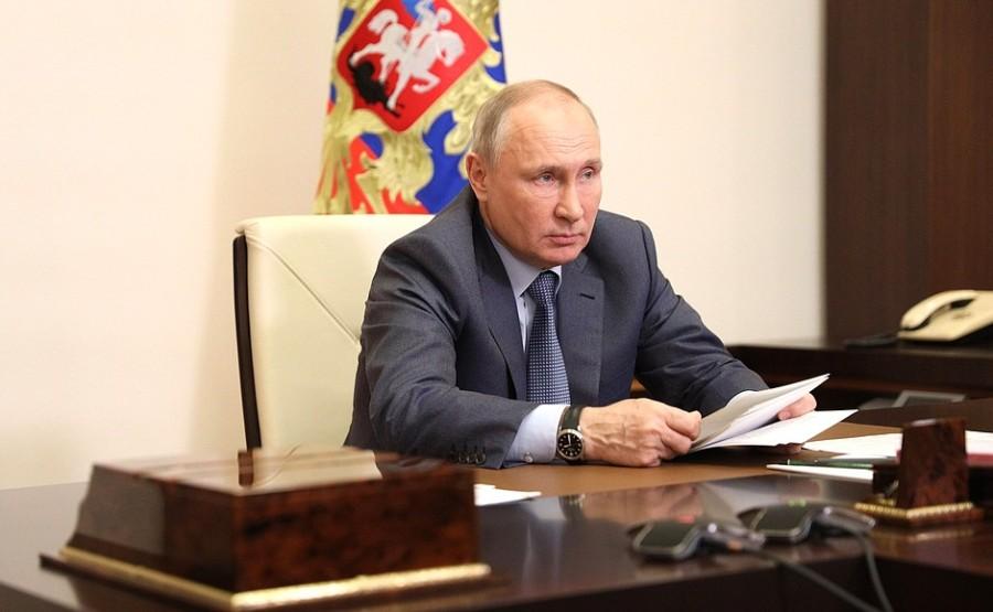 Kremlin GVT 3 SUR 7- Rencontre avec les membres du gouvernement - 13 mai 2021 - 15h50