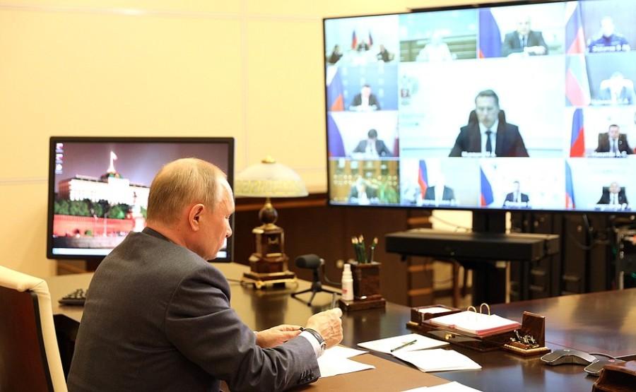 Kremlin GVT 4 SUR 7- Rencontre avec les membres du gouvernement - 13 mai 2021 - 15h50