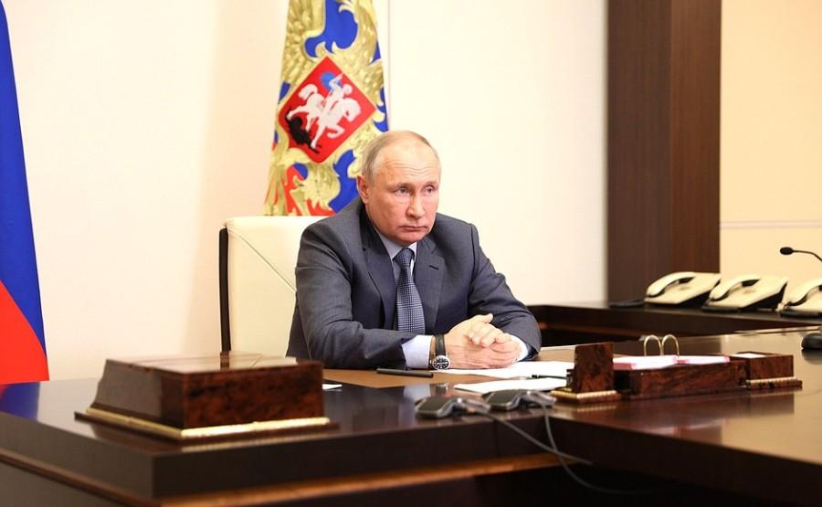 Kremlin GVT 5 SUR 7- Rencontre avec les membres du gouvernement - 13 mai 2021 - 15h50
