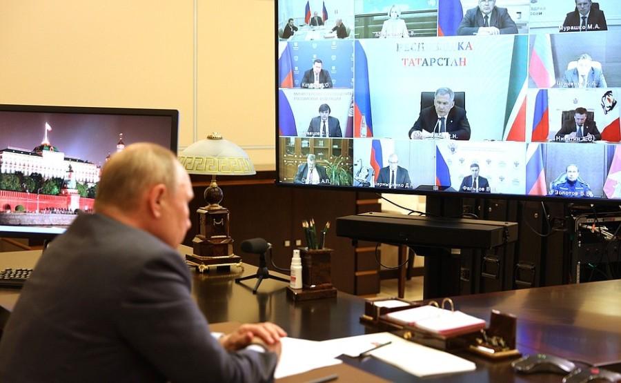 Kremlin GVT 6 SUR 7- Rencontre avec les membres du gouvernement - 13 mai 2021 - 15h50