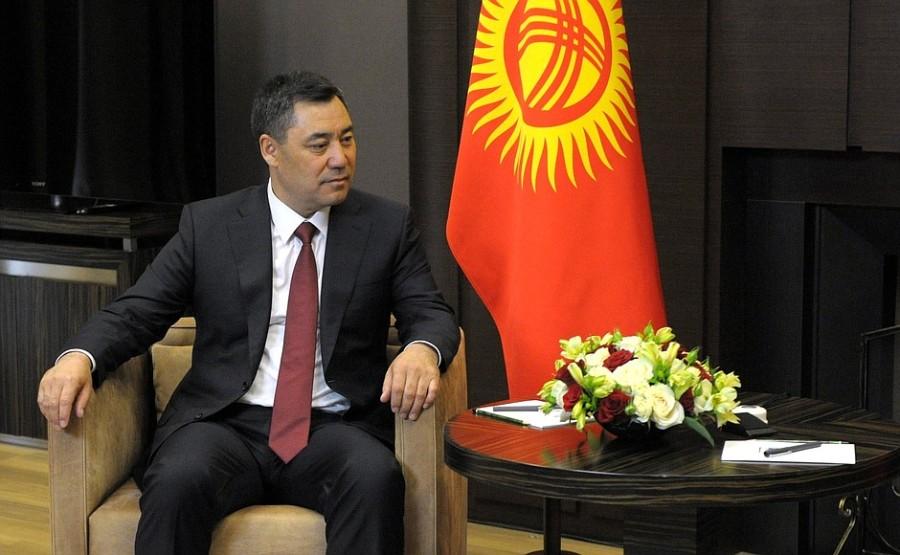 KREMLIN PH 2 SUR 2 Vladimir Poutine a reçu le président de la République kirghize Sadyr Japarov