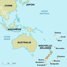La Chine et la Nouvelle-Zélande