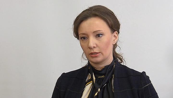 la commissaire présidentielle aux droits de l'enfant Anna Kuznetsova